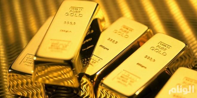 الذهب في أعلي مستوى منذ عام