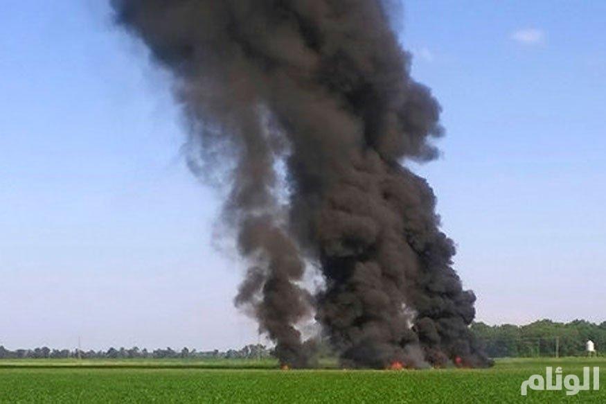 مصرع «16» شخصاً في تحطم طائرة عسكرية بالولايات المتحدة