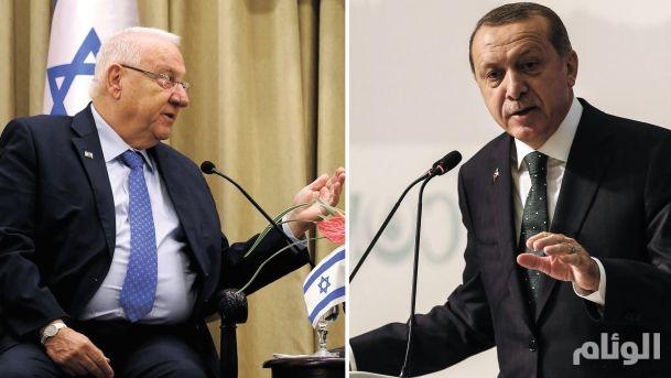 """""""أردوغان"""" يجري اتصالا بالرئيس الإسرائيلي"""