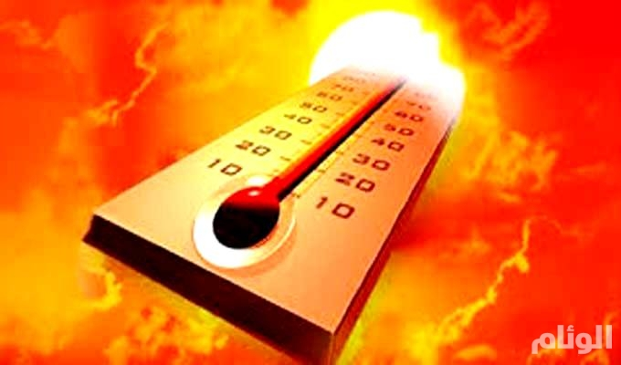 طقس حار إلى شديد الحرارة على المنطقة الشرقية