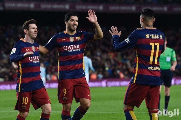 برشلونة يستعد لموسمه القادم بثلاثية في مرمى ريال مدريد
