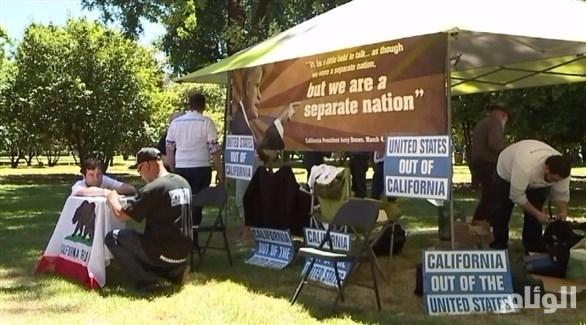 مبادرة في كاليفورنيا للانفصال عن الولايات المتحدة الأمريكية