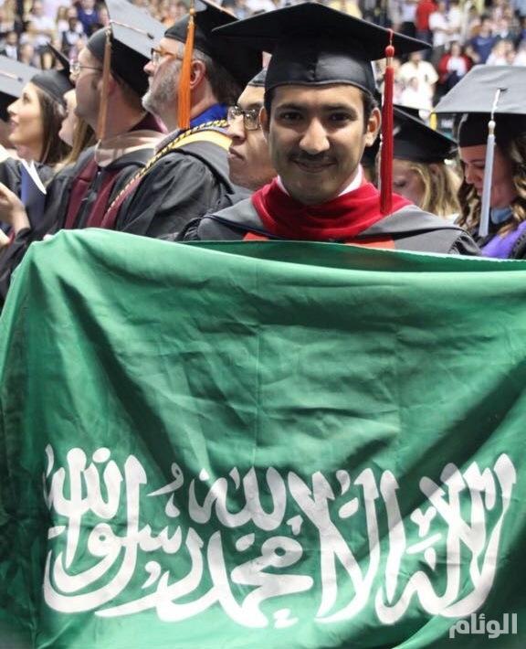 «فيصل السليس» يظفر بالماجستير من جامعة موري