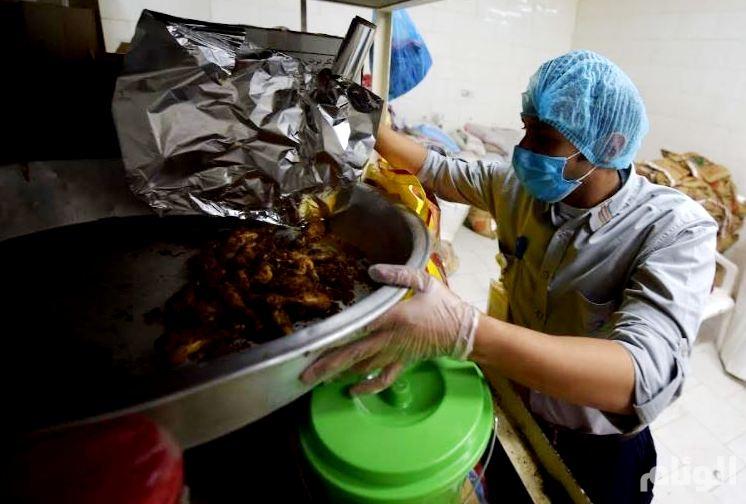 الغذاء والدواء تتلف 33 طنا من الأغذية الفاسدة