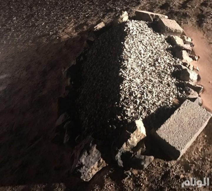 عفيف: مواطن كشف للأمن قصة القبر المجهول.. يخص والدي وأقوم بتحديثه كل فترة