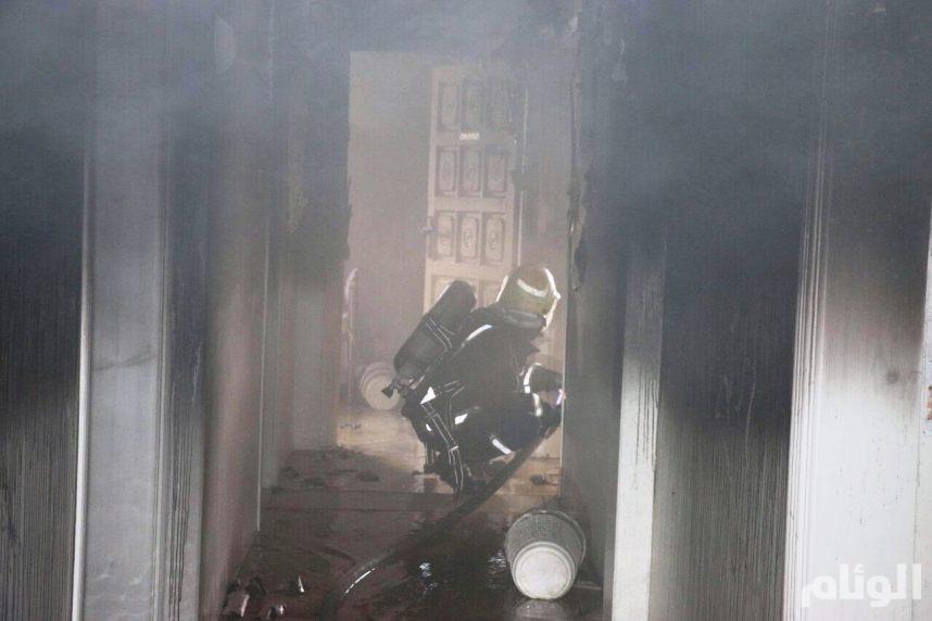 إخلاء «391» حاجا هندياً من حريق عمارة العزيزية بمكة المكرمة