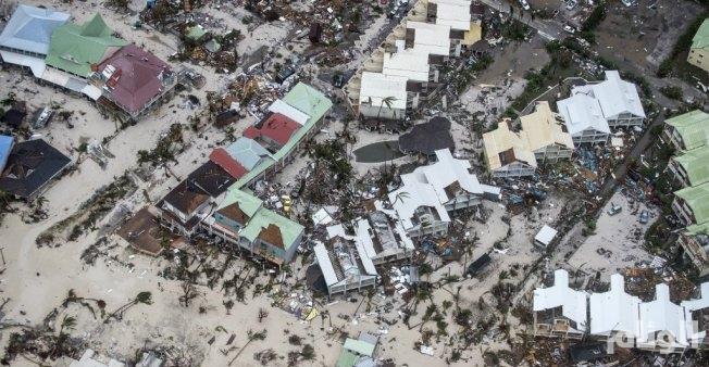 شركة تأمين تقدر قيمة أضرار إعصار ايرما بحوالى 1,2 مليار يورو