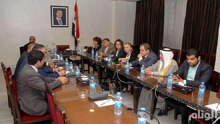 لقاء في دمشق لبحث عودة العلاقات بين مصر وسوريا