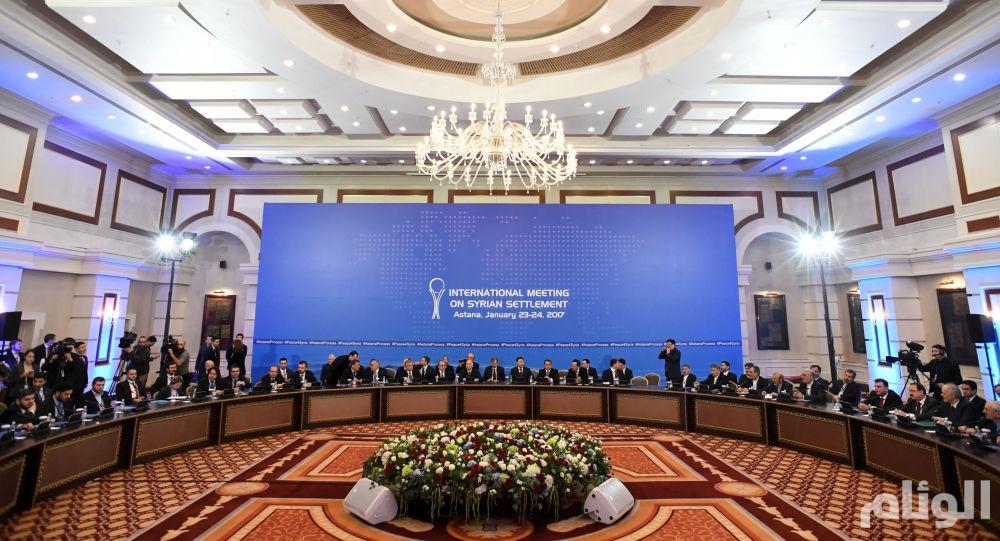 جولة جديدة من محادثات أستانا حول سوريا