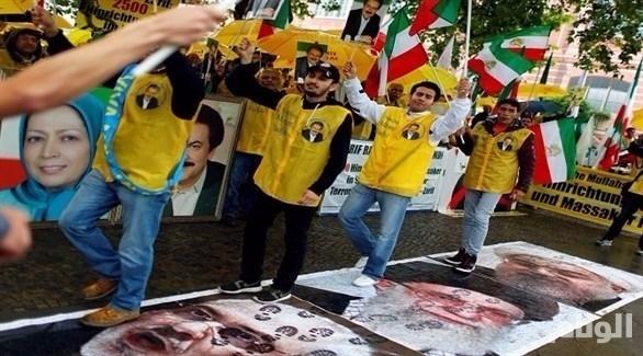 المعارضة الإيرانية تندد بزيارة روحاني وتتظاهر أمام الأمم المتحدة
