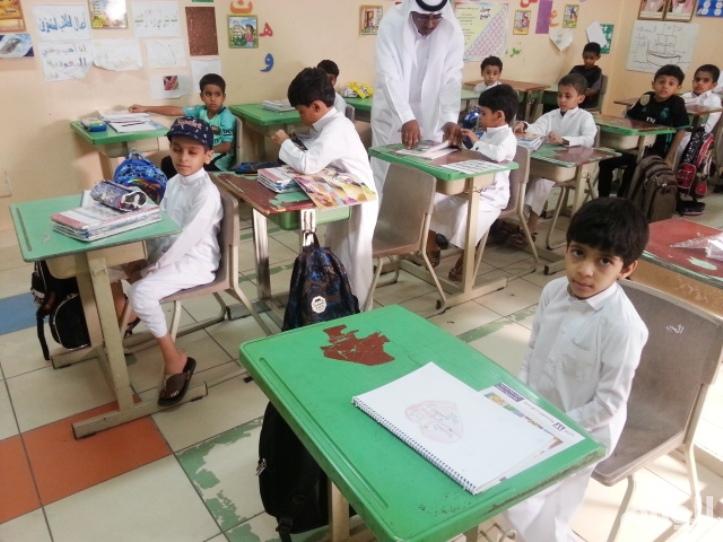 بالصور.. أكثر من «250» ألف طالب وطالبة ينتظمون بمقاعد الدراسة بالطائف