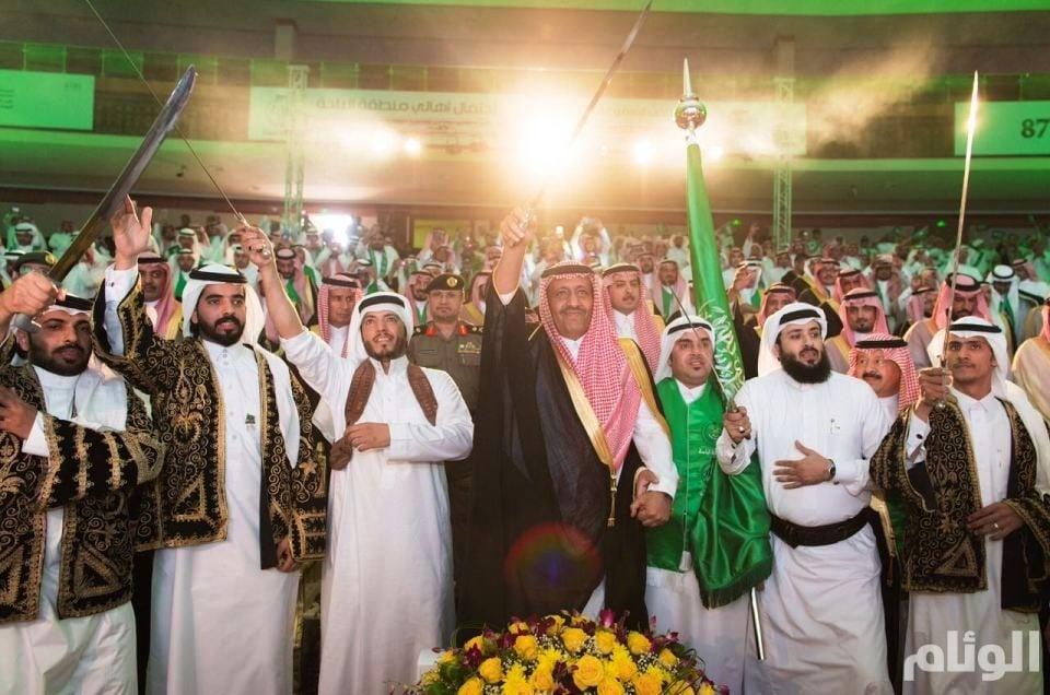 بالصور.. «أمير الباحة» يرعى حفل الأهالي بمناسبة ذكرى اليوم الوطني