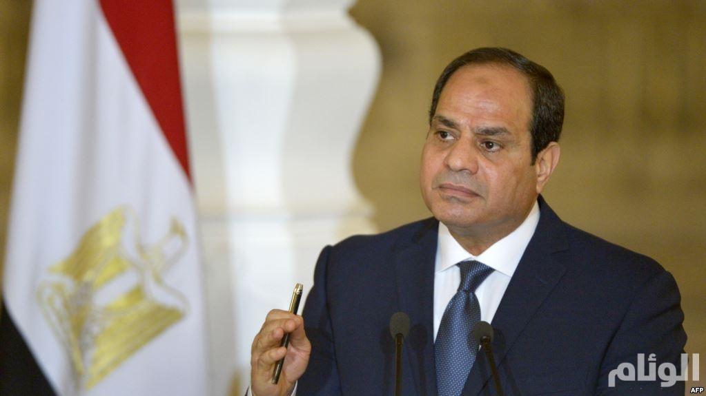 السيسي: على قطر إثبات عدم تدخلها وإضرارها بالدول العربية