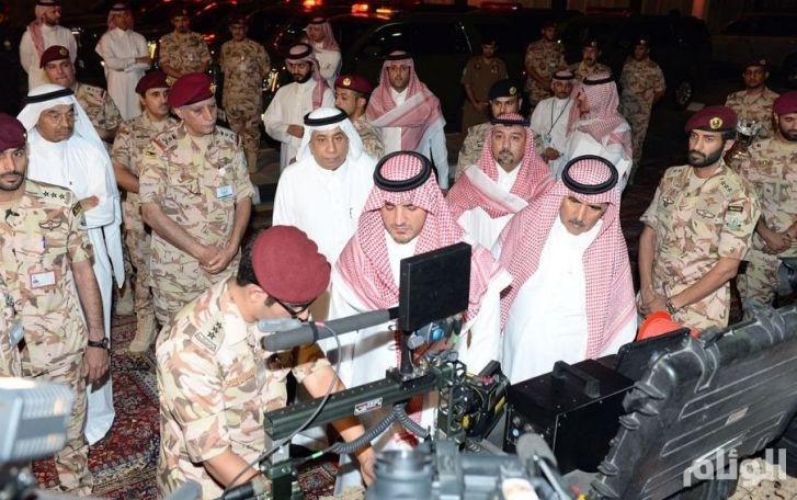 وزير الداخلية يتفقد قوات الأمن الخاصة المشاركة في مهام أمن حج هذا العام