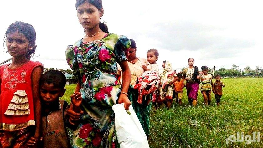 العفو الدولية تكشف صوراً حديثة: ميانمار تعتمد الأرض المحروقة ضد الروهينغا
