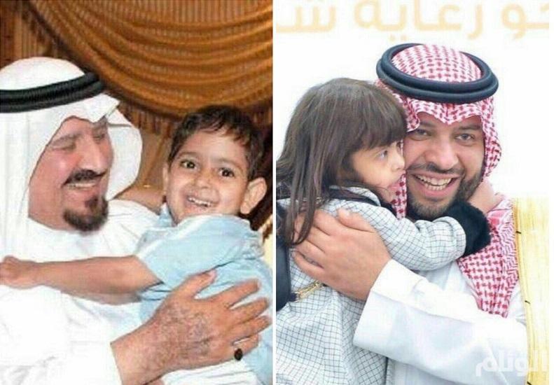 البعد الإنساني لأمير الشمالية يستدعي لقاء الأمير سلطان بالطفل المعاق