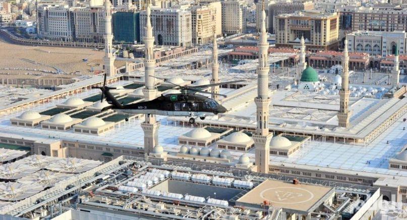 طيران الأمن يحرك طائرات مساندة إلى المدينة المنورة