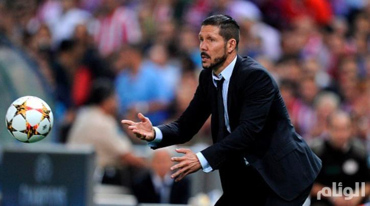 سيميوني: أتلتيكو مدريد سيحقق لقب دوري الأبطال عاجلاً أو آجلاً