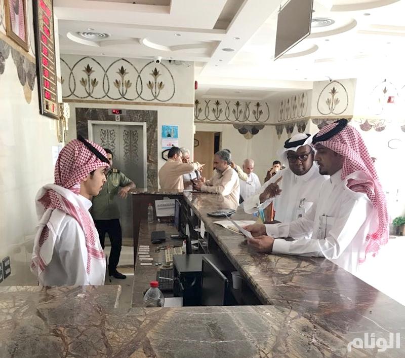 جولات رقابية لتوطين الوظائف والمهن السياحية بالمدينة