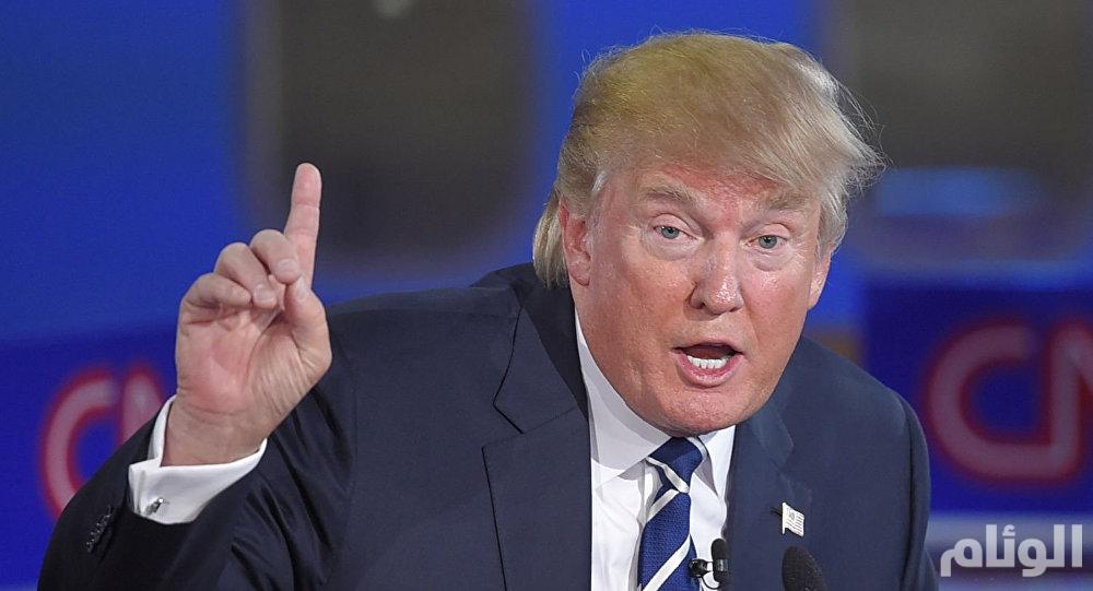 """ترامب يستخدم عبارة """"الخليج العربي"""" في استراتيجيته مع إيران"""