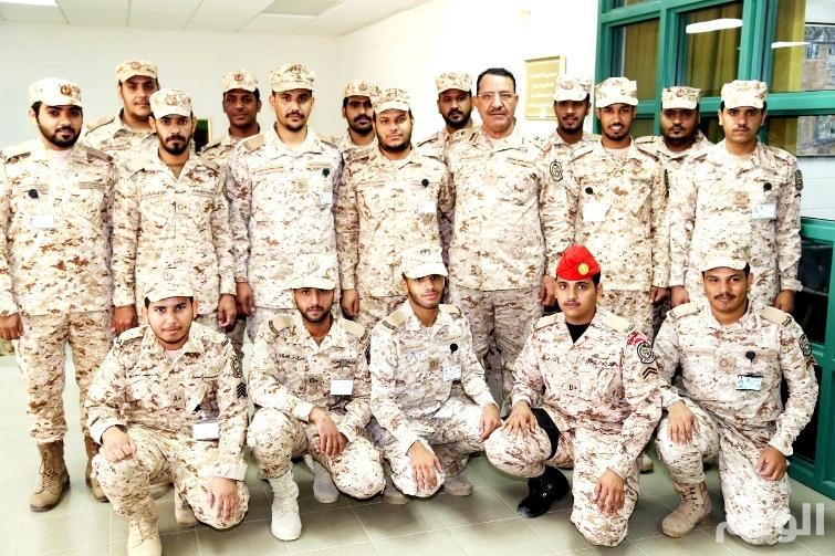 ترقية عدد من الأفراد بمدارس الحرس الوطني العسكرية