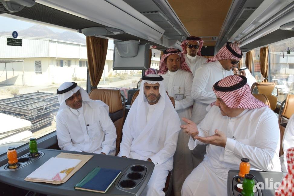 بالصور: نائب وزير الحج والعمرة يتفقد النقل الترددي ومشروعات المشاعر المقدسة