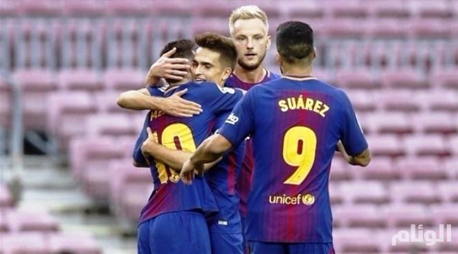 رسمياً: برشلونة الإسباني يعلن عن رقم قياسي جديد