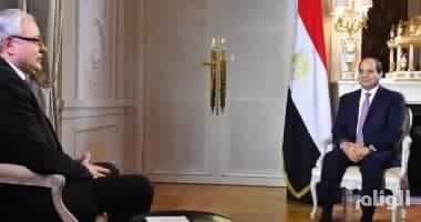 السيسي : ليس لدينا معتقلون سياسيون ومصالحة الإخوان بيد الشعب