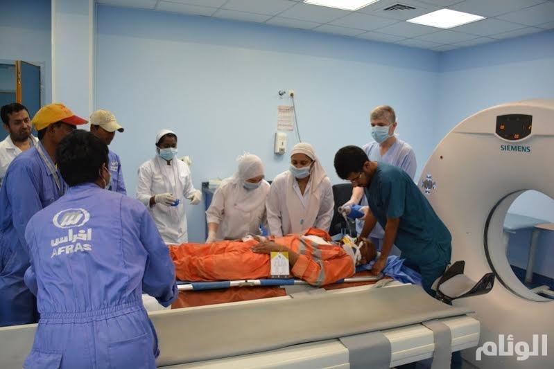 طوارئ بمستشفى رجال ألمع إثر حادثين مروري