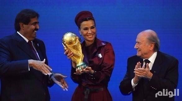 تقرير سري قد يطيح باستضافة قطر لمونديال 2022