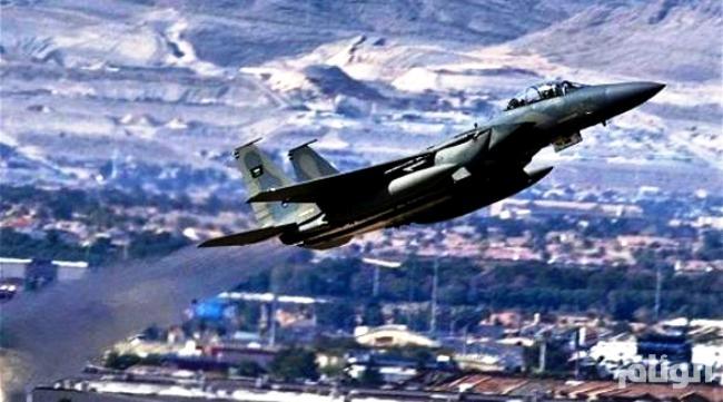 طيران التحالف العربي يستهدف تجمعات للحوثيين جنوب تعز