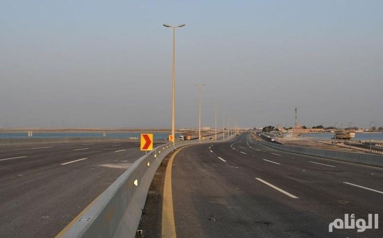 النقل: افتتاح جسر وشاطئ نصف القمر أمام حركة المرور
