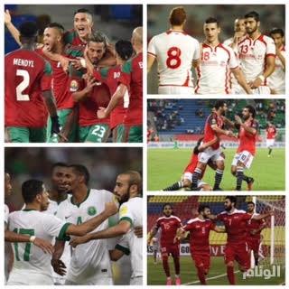 «العرب» يحلمون بمشاركة تاريخية بمونديال روسيا 2018