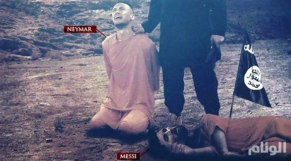 «داعش الإرهابي» يعود من جديد لتهديد ميسي ونيمار