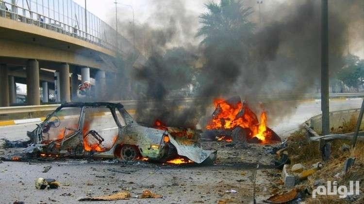 قتلى وجرحى بتفجير شمال بغداد