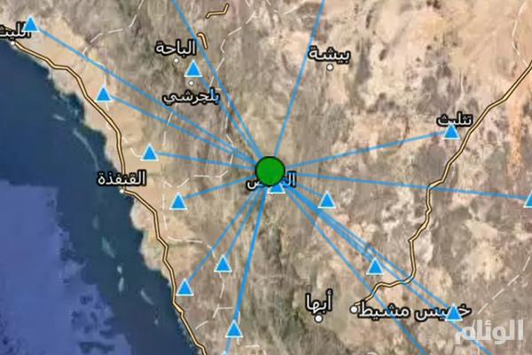 المساحة الجيولوجية: رصد هزات أرضية على مسافة «15» كيلومتراً شمال النماص