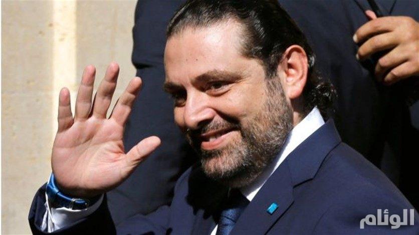 الحريري يجري اتصالا هاتفيا بالرئيس عون ومفتي الجمهورية اللبنانية