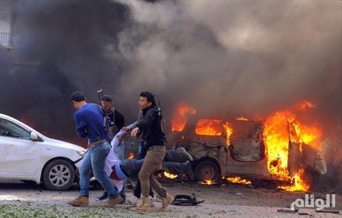 مقتل وإصابة 5 من عناصر الحشد الشعبي بتفجير انتحاري بالعراق