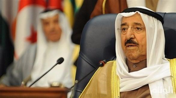 أمير الكويت يستنكر العمل الإجرامي في عسير