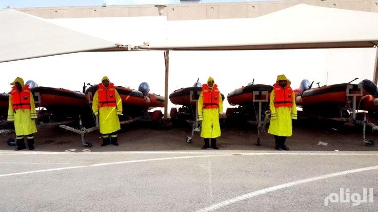 الدفاع المدني يحذر المواطنين من أمطار غزيرة بمنطقة مكة المكرمة