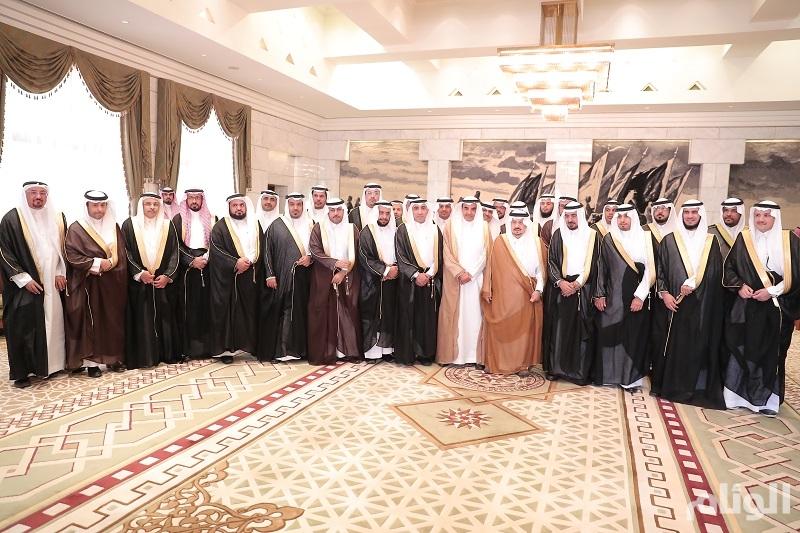 أمير الرياض يدشن خطة جامعة شقراء الأولى (2020)