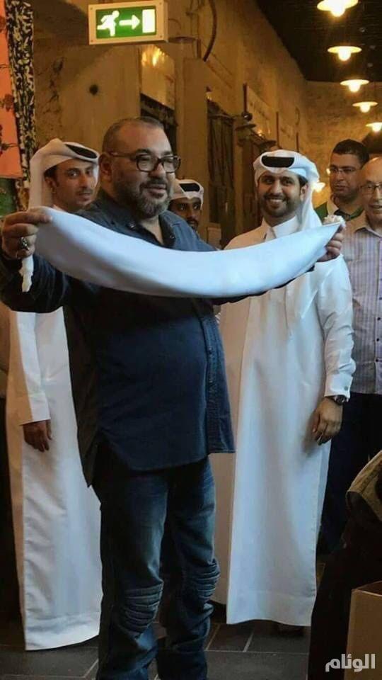"""قطر تتوعد بمحاسبة إعلامييها بعد إساءتهم لملك المغرب بصورة """"مفبركة"""""""
