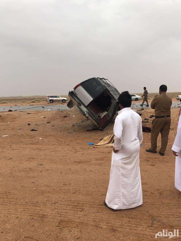 وفاة شخصين في تصادم بطريق «قصر ابن عقيل – الدوحة»