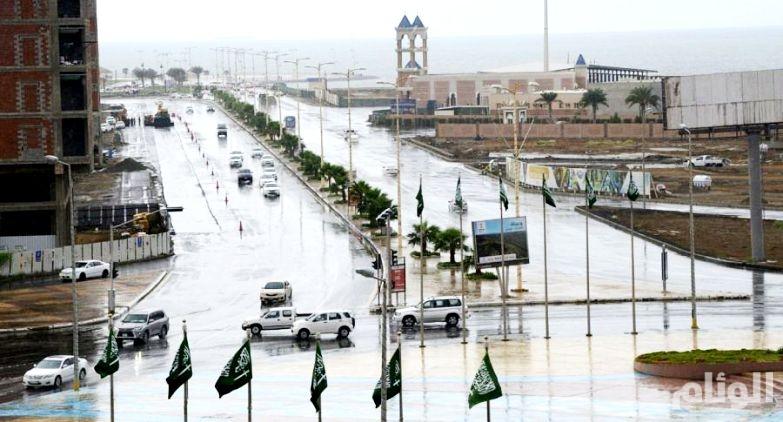 الأرصاد: هطول أمطار رعدية في مرتفعات جازان وعسير والباحة