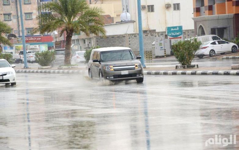 حالة الطقس: توقعات بهطول أمطار رعدية في «7» مناطق سعودية