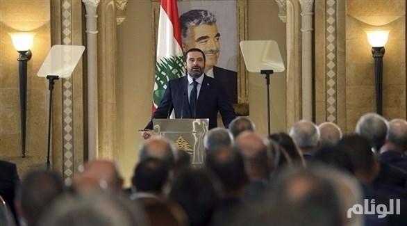 لبنان: خطاب مُباشر لسعد الحريري في التلفزيون يعلن خلاله مواقفه من حزب الله
