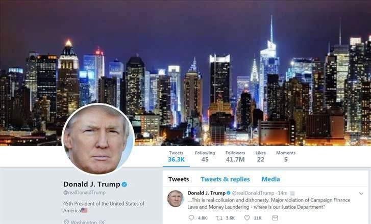 موظف في «تويتر» يعطل حساب الرئيس الأمريكي