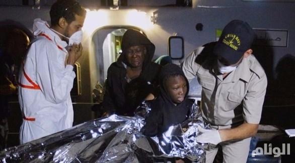 خفر السواحل الليبي يعترض «300» مهاجر شرقي طرابلس