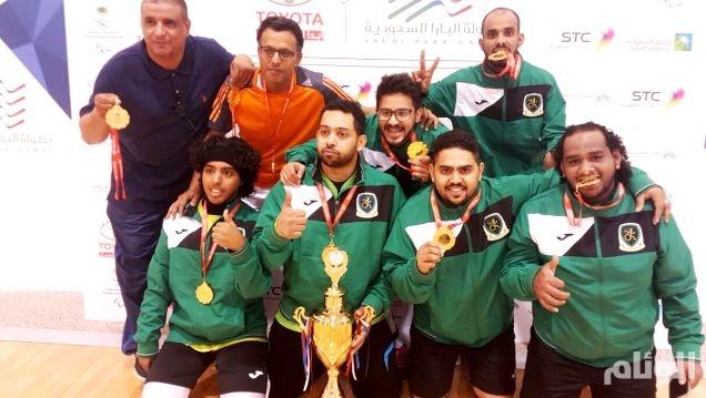 نادي جدة لذوي الاعاقة يحصد ذهب البطولة البارالمبية السعودية الأولى
