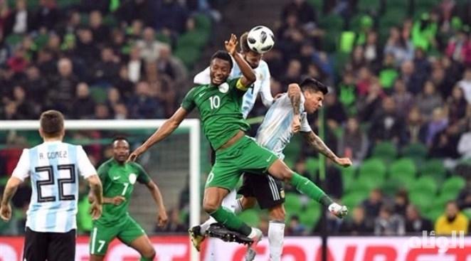 نيجيريا تقلب الطاولة وتعاقب الأرجنتين في غياب ميسي